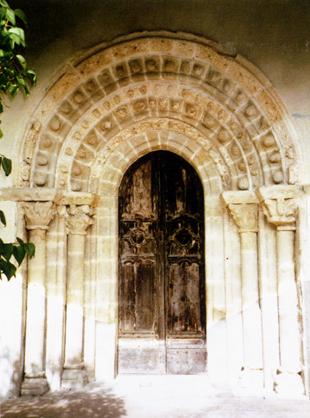 Saint Pierre de Monestier (le portail)